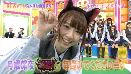 橋本奈々未 NOGIBINGO!6の猫耳を付けた可愛い子猫姿キャプ 画像30枚 21