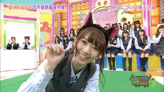 橋本奈々未 NOGIBINGO!6の猫耳を付けた可愛い子猫姿キャプ 画像30枚 22