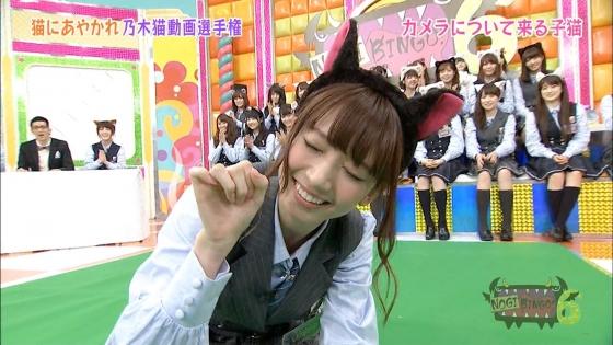 橋本奈々未 NOGIBINGO!6の猫耳を付けた可愛い子猫姿キャプ 画像30枚 23