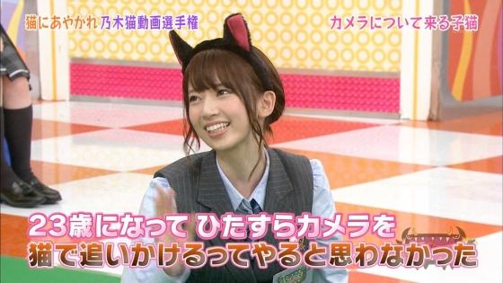 橋本奈々未 NOGIBINGO!6の猫耳を付けた可愛い子猫姿キャプ 画像30枚 24