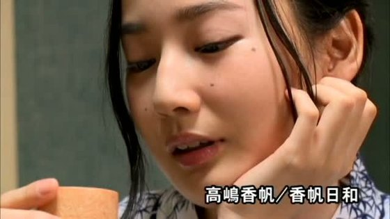 高嶋香帆 DVD香帆日和のEカップハミ乳キャプ 画像41枚 20