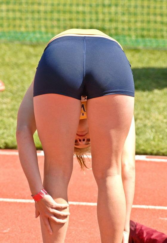 女子アスリートの食い込み股間マン筋を激写 画像50枚 31