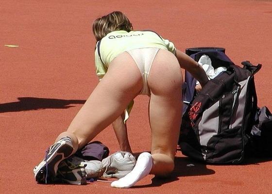 女子アスリートの食い込み股間マン筋を激写 画像50枚 36
