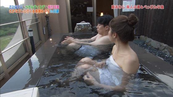 稲村亜美 ドラGO!のバスタオル入浴姿キャプ 画像30枚 26
