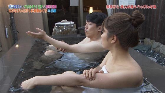 稲村亜美 ドラGO!のバスタオル入浴姿キャプ 画像30枚 27