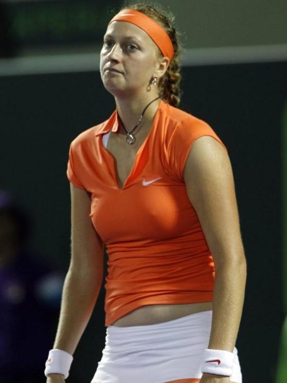 女子テニスプレイヤーの乳首ポチや乳首透けなお宝 画像33枚 28