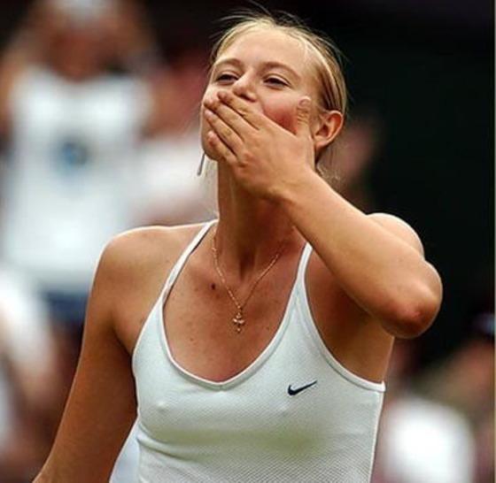 女子テニスプレイヤーの乳首ポチや乳首透けなお宝 画像33枚 31