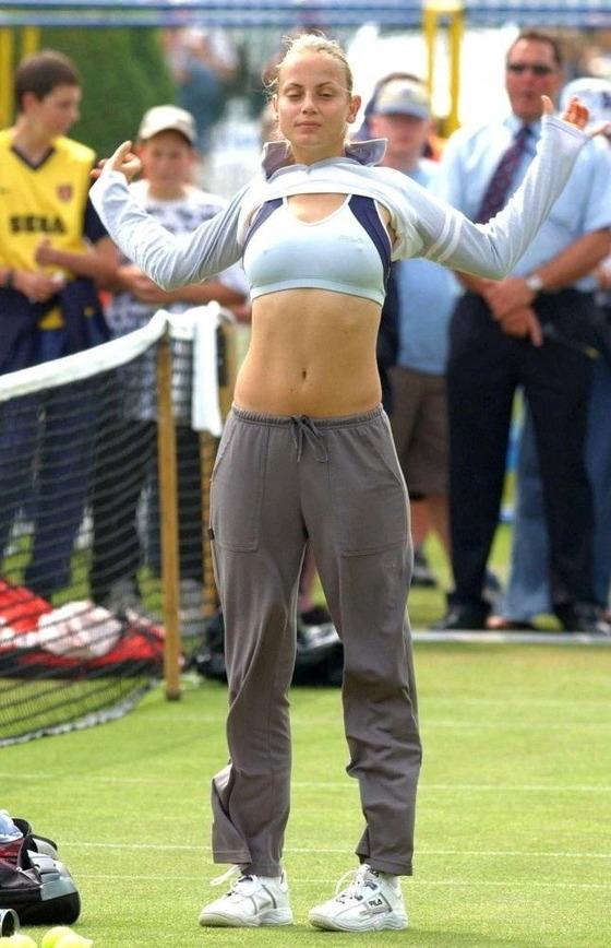 女子テニスプレイヤーの乳首ポチや乳首透けなお宝 画像33枚 33
