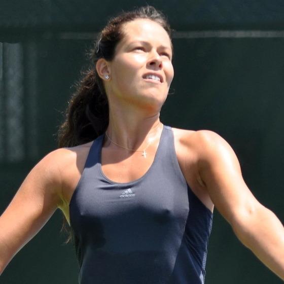 女子テニスプレイヤーの乳首ポチや乳首透けなお宝 画像33枚 8