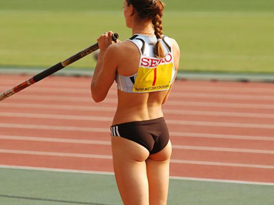 女子陸上選手のお尻の食い込みとパンティライン 画像35枚 22
