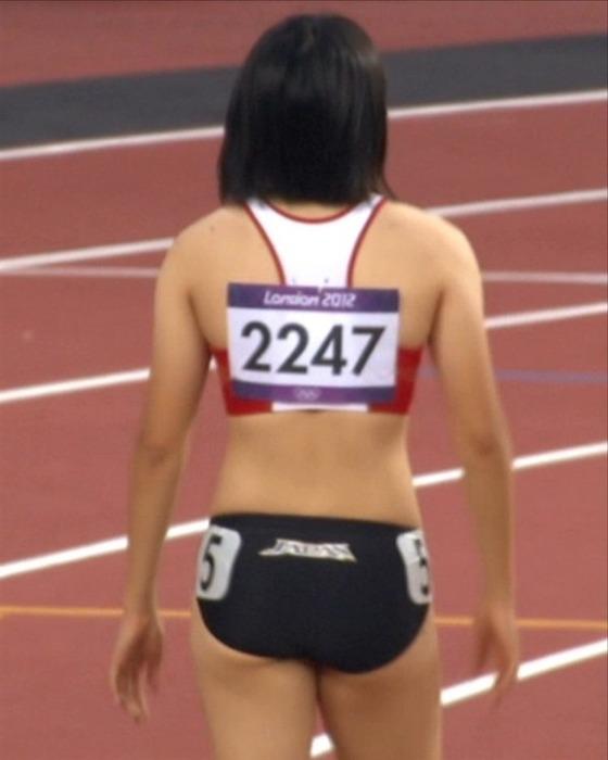 女子陸上選手のお尻の食い込みとパンティライン 画像35枚 31
