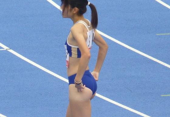 女子陸上選手のお尻の食い込みとパンティライン 画像35枚 7