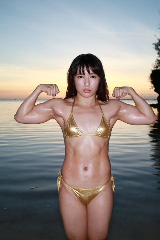 才木玲佳 DVDマッスルエンジェルの水着姿筋肉キャプ 画像65枚 12