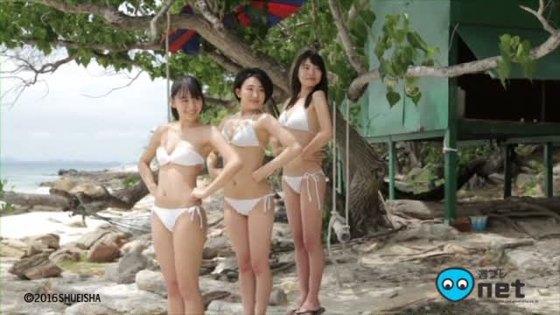 浅川梨奈 月刊ヤンマガの水着姿Eカップ谷間最新グラビア 画像33枚 17