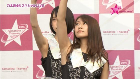 乃木坂46 野外ライブのノースリーブ全開腋キャプ 画像19枚 11