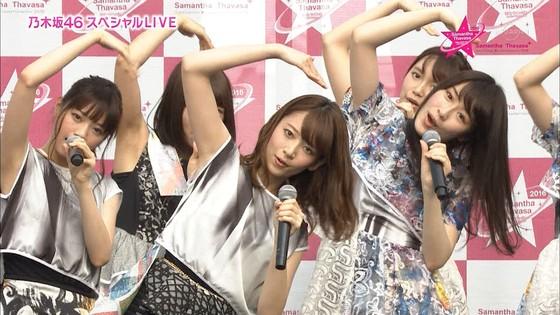 乃木坂46 野外ライブのノースリーブ全開腋キャプ 画像19枚 1