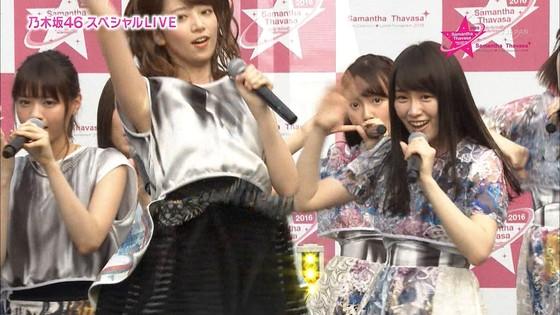 乃木坂46 野外ライブのノースリーブ全開腋キャプ 画像19枚 26