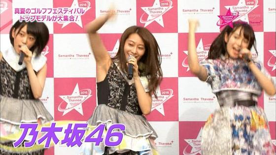 乃木坂46 野外ライブのノースリーブ全開腋キャプ 画像19枚 3