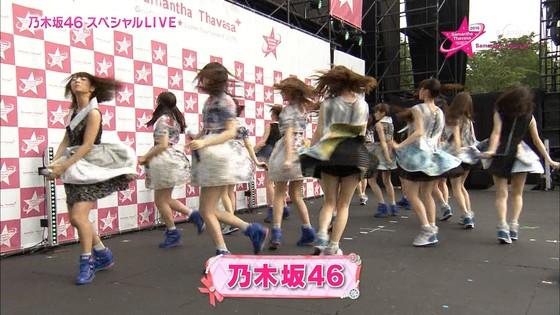 乃木坂46 野外ライブのノースリーブ全開腋キャプ 画像19枚 7