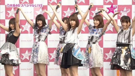 乃木坂46 野外ライブのノースリーブ全開腋キャプ 画像19枚 8