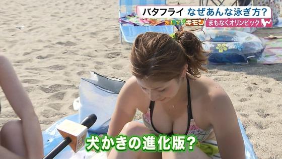 ビーチの水着姿ギャルが映ったテレビ番組キャプ 画像32枚 28