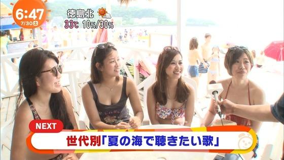 ビーチの水着姿ギャルが映ったテレビ番組キャプ 画像32枚 31