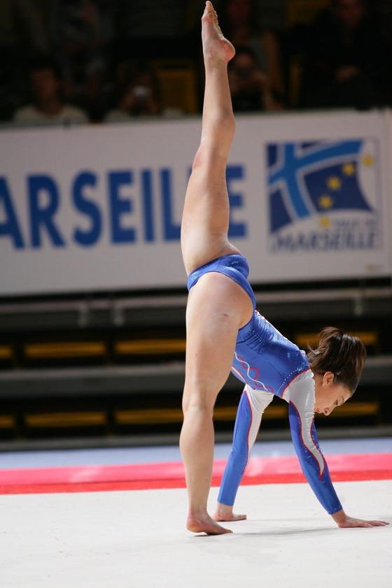 女子体操選手の股間の食い込みが気になるお宝ショット 画像35枚 14