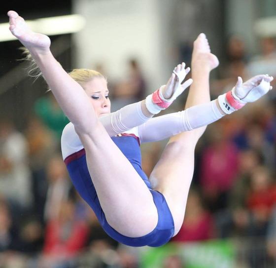 女子体操選手の股間の食い込みが気になるお宝ショット 画像35枚 15
