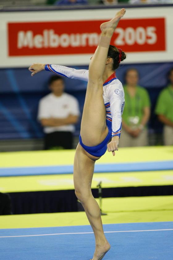 女子体操選手の股間の食い込みが気になるお宝ショット 画像35枚 33