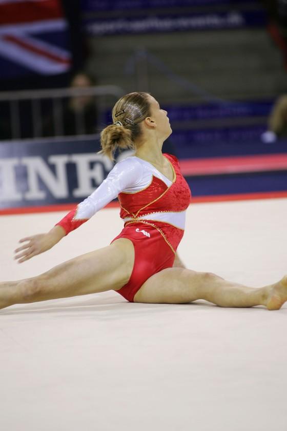 女子体操選手の股間の食い込みが気になるお宝ショット 画像35枚 5