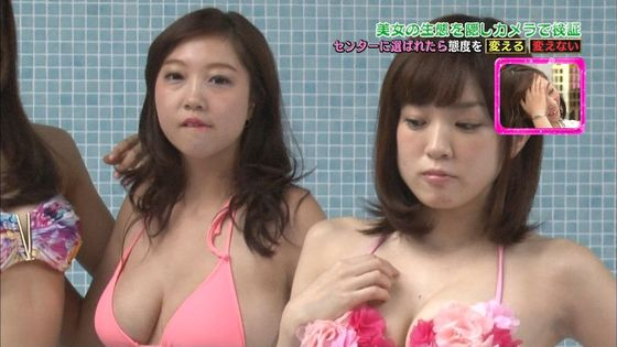 西岡葉月 TBS特番の麻生亜実との爆乳共演キャプ 画像29枚 6