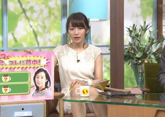 女子アナやお天気お姉さんのお宝パンチラキャプ 画像40枚 14