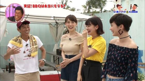 泉里香 さんま岡村祭りのGカップ着衣巨乳キャプ 画像27枚 20