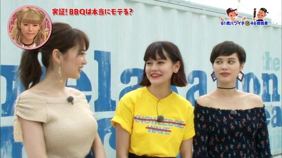 泉里香 さんま岡村祭りのGカップ着衣巨乳キャプ 画像27枚 3