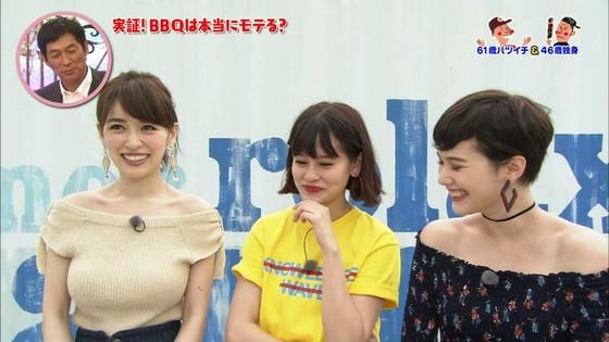 泉里香 さんま岡村祭りのGカップ着衣巨乳キャプ 画像27枚 4