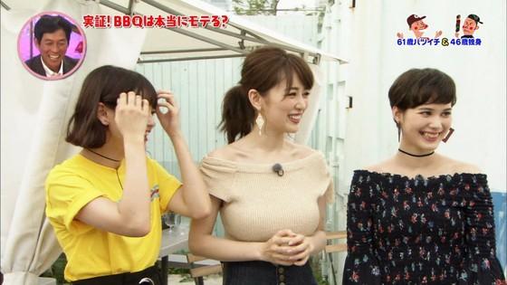 泉里香 さんま岡村祭りのGカップ着衣巨乳キャプ 画像27枚 7