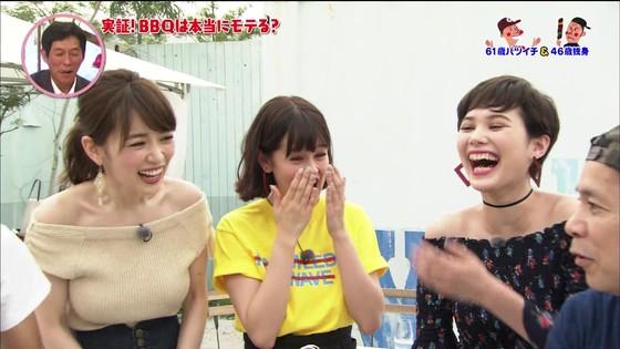 泉里香 さんま岡村祭りのGカップ着衣巨乳キャプ 画像27枚 9