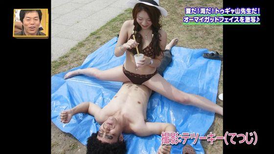 ビーチロケの素人女性水着姿谷間&お尻&股間キャプ 画像47枚 28