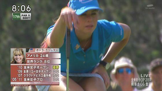 女子プロゴルファーのパンチラや太ももが気になるキャプ 画像45枚 16