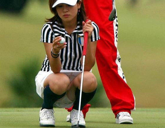 女子プロゴルファーのパンチラや太ももが気になるキャプ 画像45枚 18