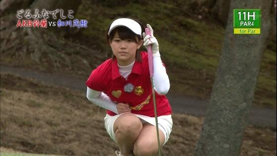 女子プロゴルファーのパンチラや太ももが気になるキャプ 画像45枚 20