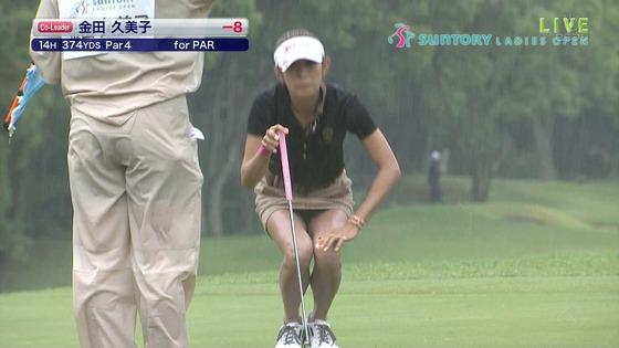 女子プロゴルファーのパンチラや太ももが気になるキャプ 画像45枚 26