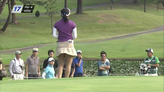 女子プロゴルファーのパンチラや太ももが気になるキャプ 画像45枚 28