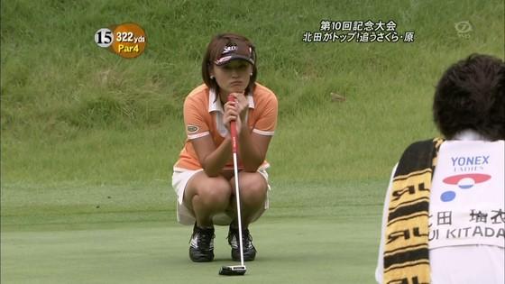 女子プロゴルファーのパンチラや太ももが気になるキャプ 画像45枚 35