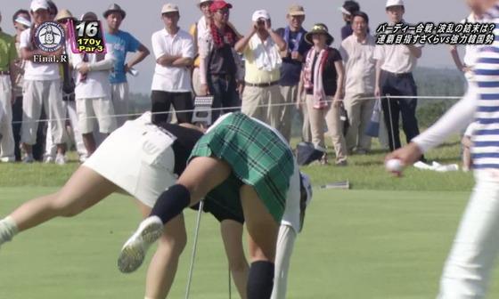 女子プロゴルファーのパンチラや太ももが気になるキャプ 画像45枚 39