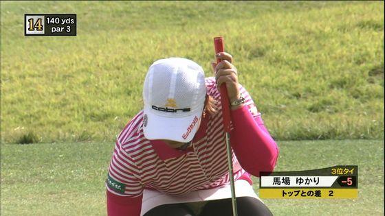 女子プロゴルファーのパンチラや太ももが気になるキャプ 画像45枚 6