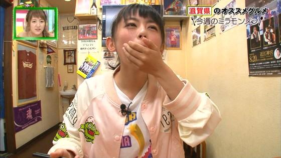 濵咲友菜 ミラモンメシのたこ焼き頬張り顔キャプ 画像30枚 16