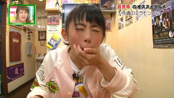 濵咲友菜 ミラモンメシのたこ焼き頬張り顔キャプ 画像30枚 1