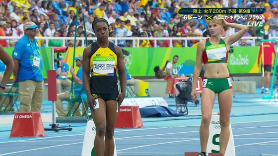 リオ五輪陸上女子選手達の筋肉と下半身キャプ 画像32枚 22