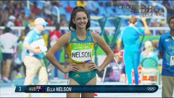 リオ五輪陸上女子選手達の筋肉と下半身キャプ 画像32枚 25